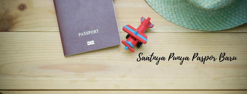 Mengurus Sendiri Perpanjang Paspor dalam 45 Menit