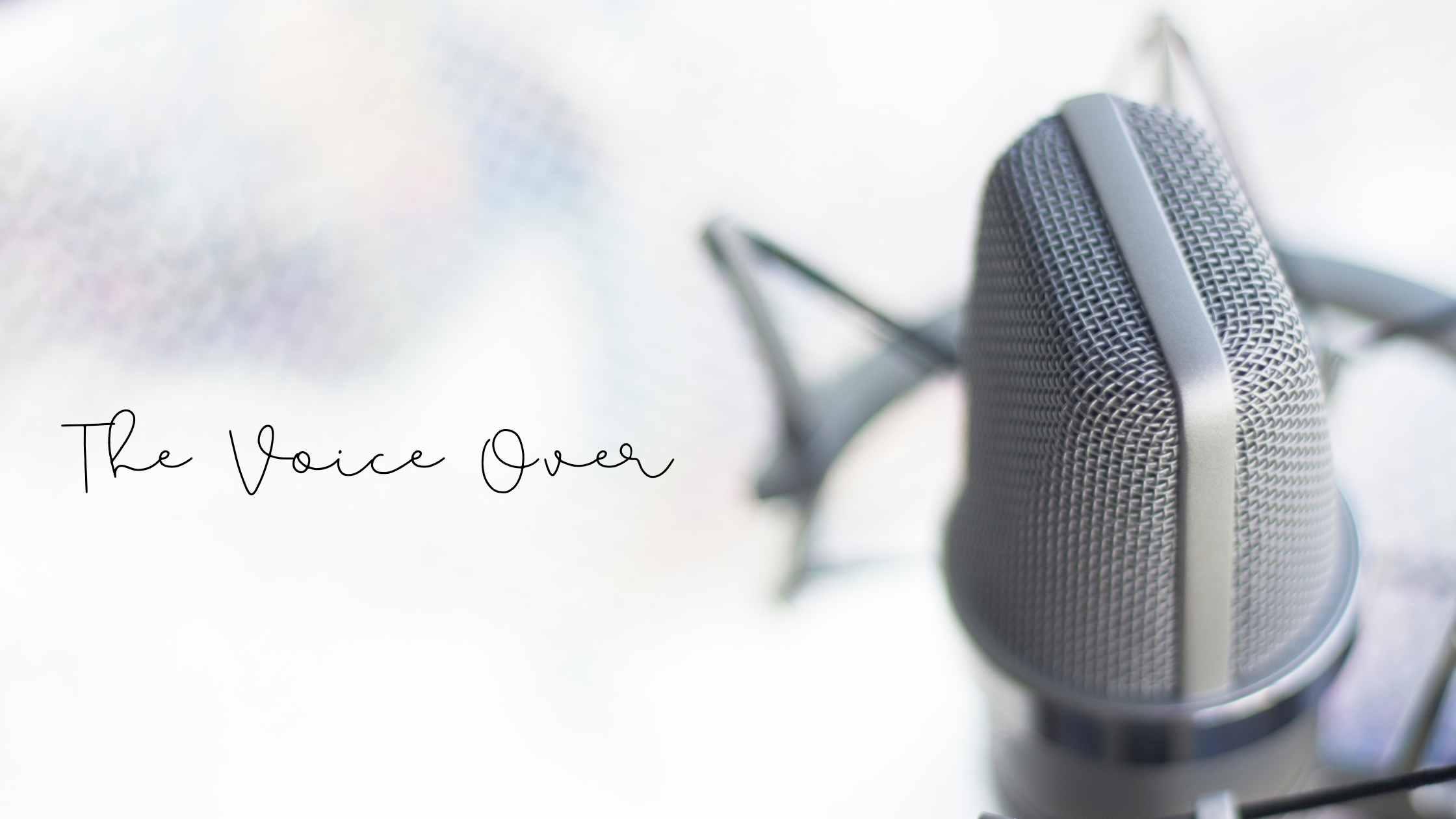 belajar voice over